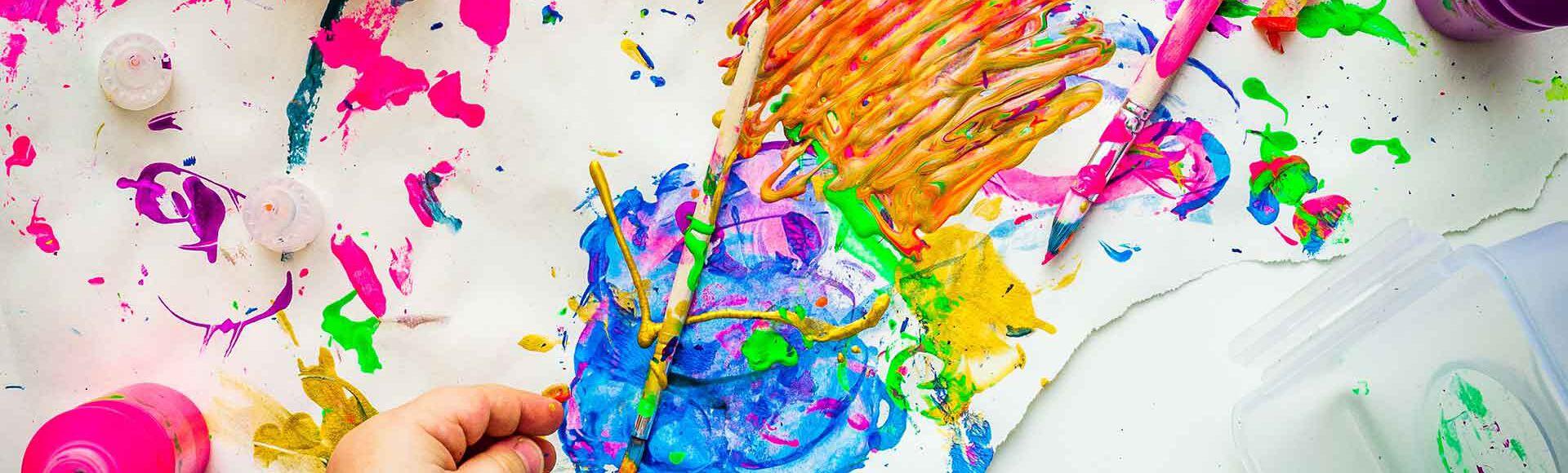 Benefícios da arte para crianças