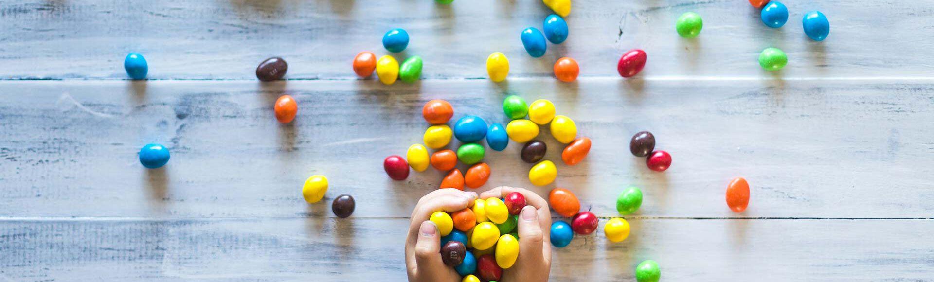 Gosto de doces por crianças