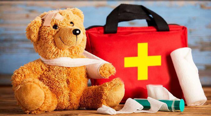Primeiros socorros para bebês e crianças pequenas