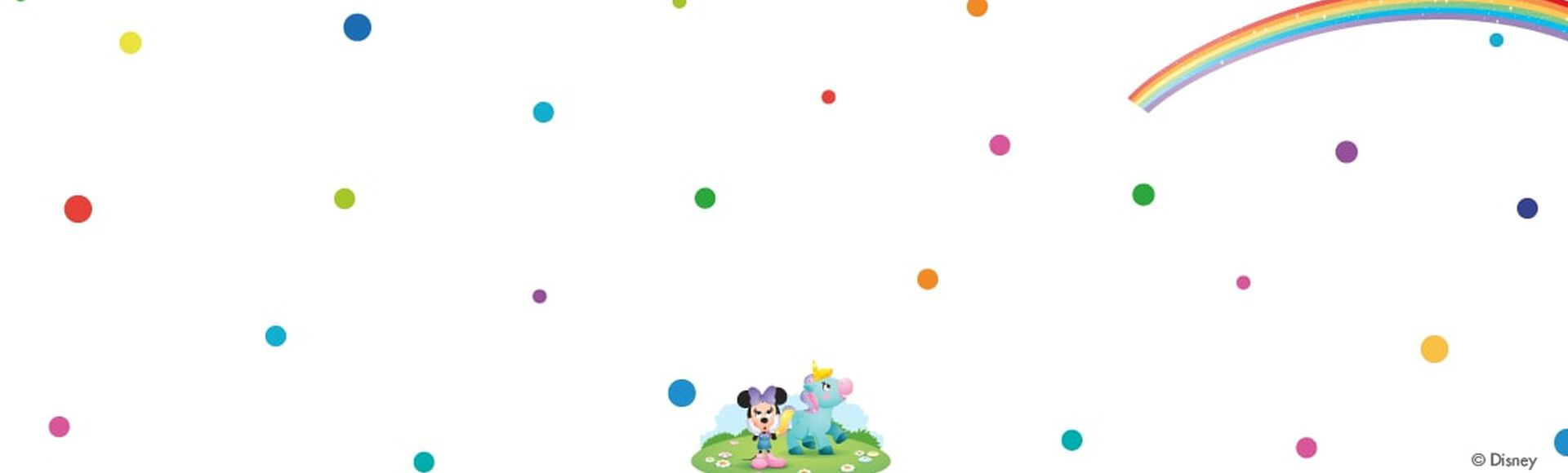 Minnie Mouse e Lily o unicórnio