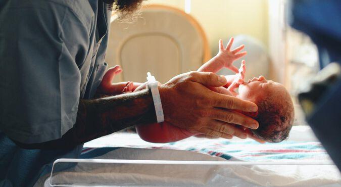 Exames médicos do bebê