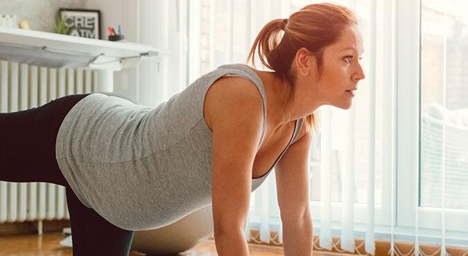 Exercícios de preparação para o parto