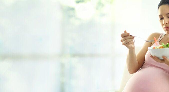 Nutrição na gravidez por trimestre
