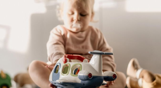 Desinfetar os brinquedos do bebê