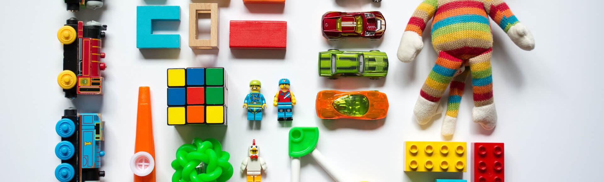 Brinquedos adequados nos primeiros meses