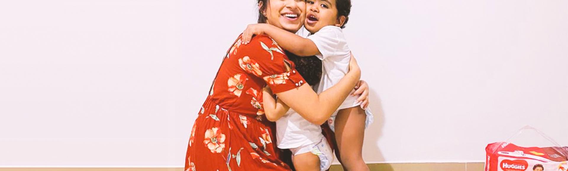 Thalia Rodrigues  e seu bebê