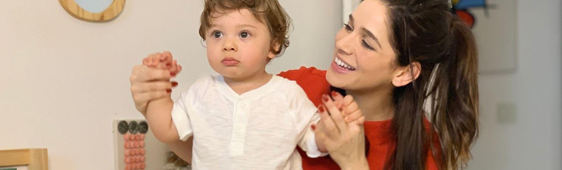 Sabrina Petraglia — mamãe do Gael
