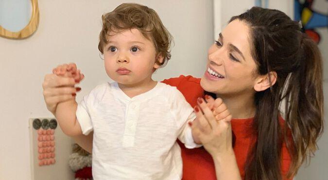 Sabrina Petraglia, atriz e mamãe do Gael