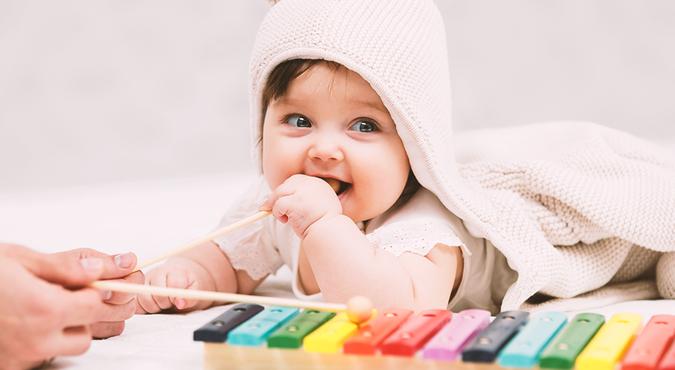 A música no desenvolvimento infantil