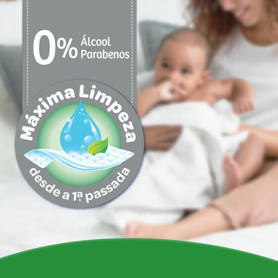 LENÇO UMEDECIDO MAX CLEAN 96 UNIDADES