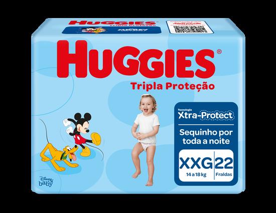 Fralda Huggies Tripla Proteção XXG- 22 unidades