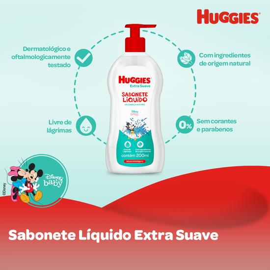 SABONETE LÍQUIDO EXTRA SUAVE - 200ML