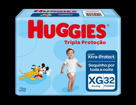Fralda Tripla Proteção Mega XG - 32 unidades