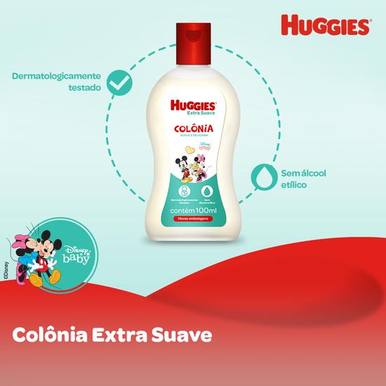 Colônia Huggies Extra Suave