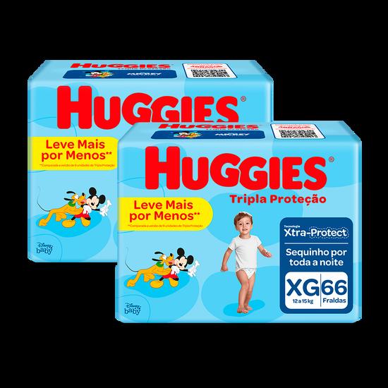 2 Fraldas Tripla Proteção Hiper XG