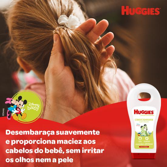Kit Hora do Banho Huggies Camomila