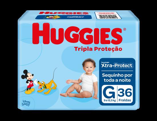 Fralda Tripla Proteção Mega G - 36 unidades
