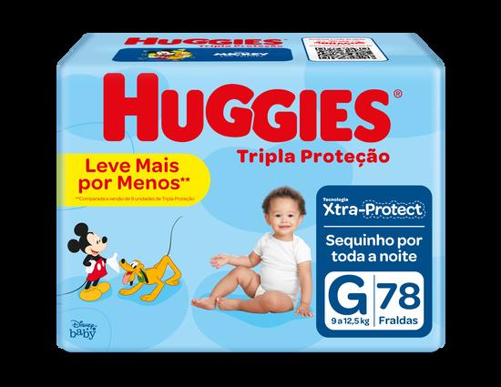 FRALDA TRIPLA PROTEÇÃO G - 78 uni