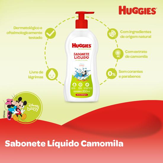 SABONETE LÍQUIDO CAMOMILA - 200ML