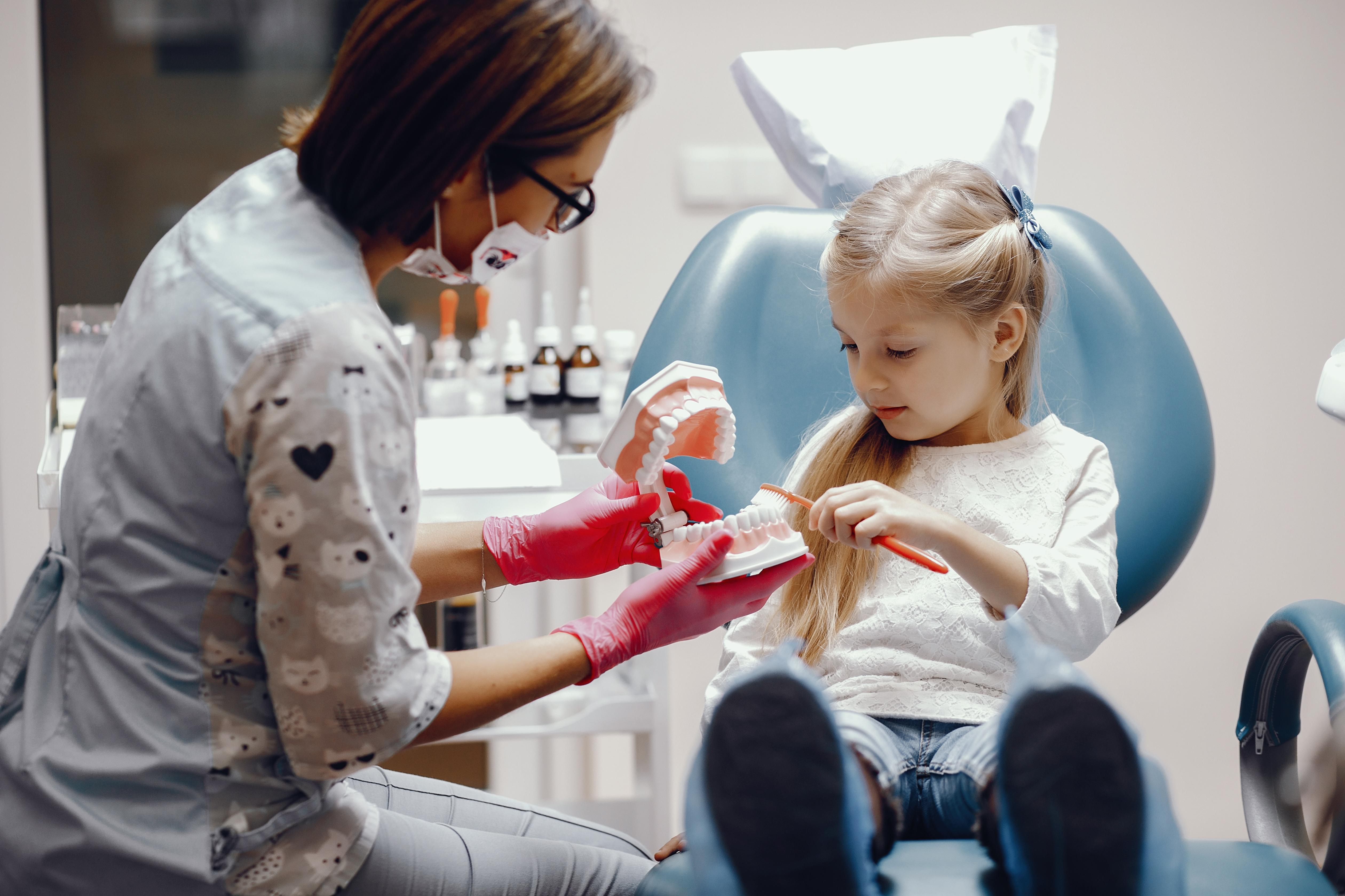 Saúde oral e higiene bucal do seu filho