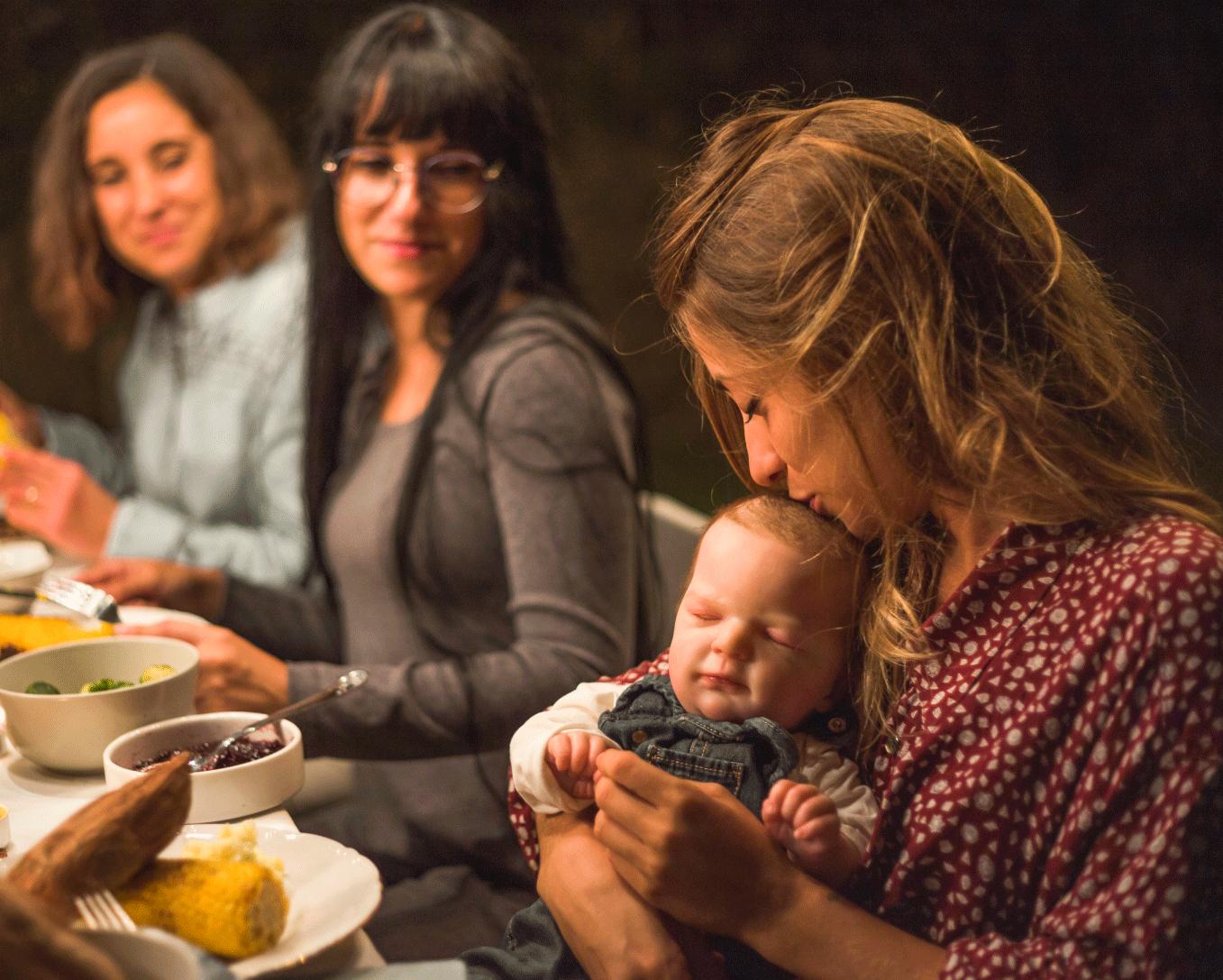Restaurantes e bebês se forem compatíveis