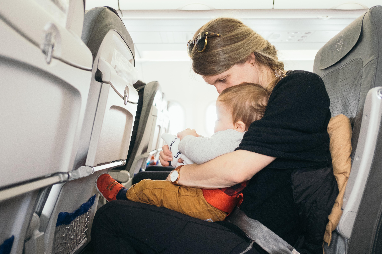 Mantendo a calma durante o vôo